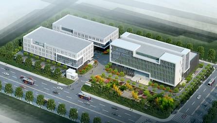 公司新厂房整体设计效果图