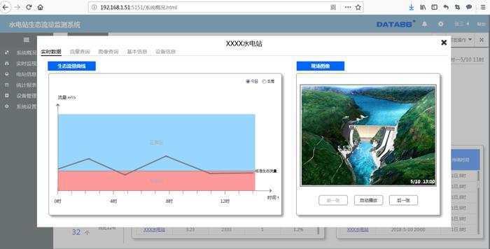 水电站生态流量监测系统软件
