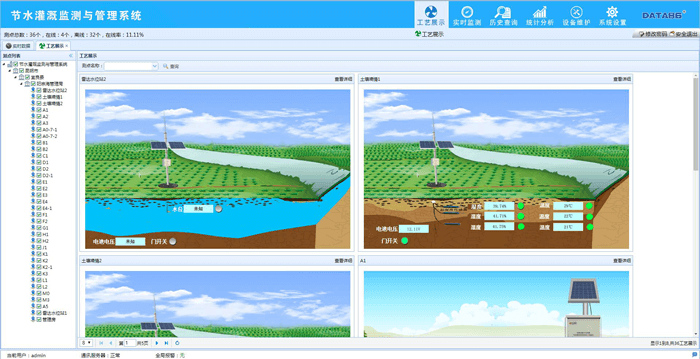 土壤墒情监测系统|土壤墒情动态监测系统软件