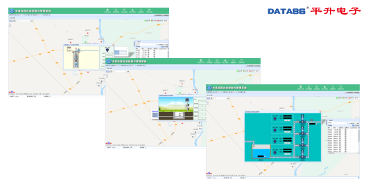 組態界面直觀展示測點數據